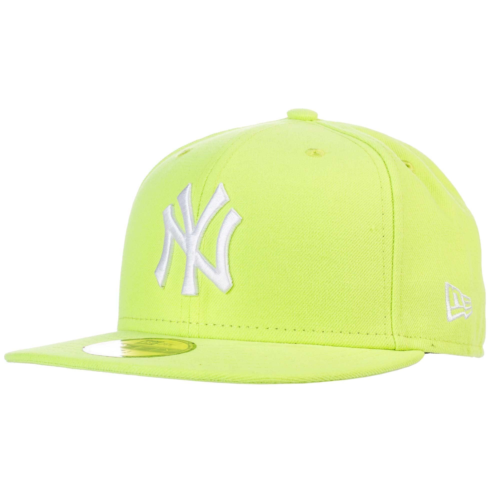 Kšiltovka New Era New York Yankees 59Fifty cyber green