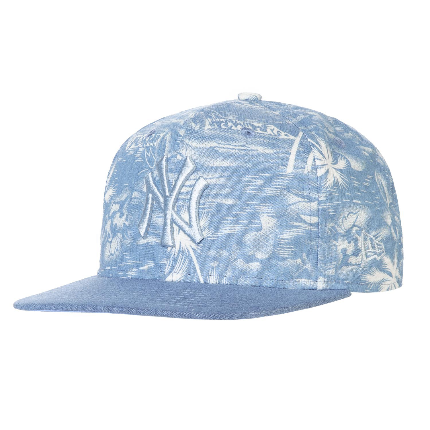 Kšiltovka New Era New York Yankees 9Fifty Den Palm blue