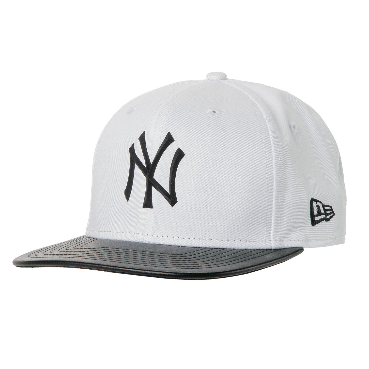 Kšiltovka New Era New York Yankees 9Fifty Mlb Rubber Prime white/black vel.S/M 16 + doručení do 24 hodin