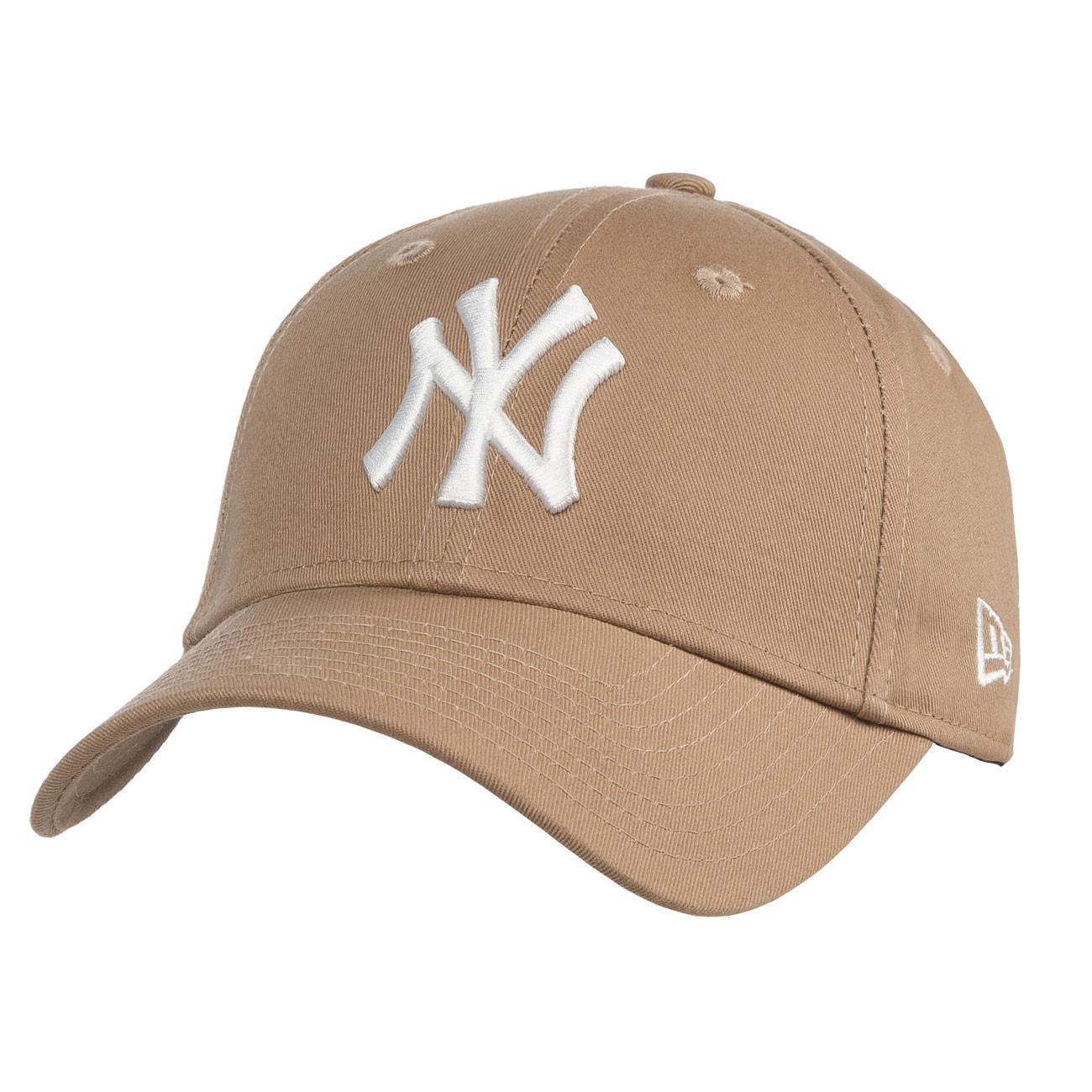 b615c6c0 Cap New Era New York Yankees 9Forty Essntl khaki/white | Snowboard Zezula