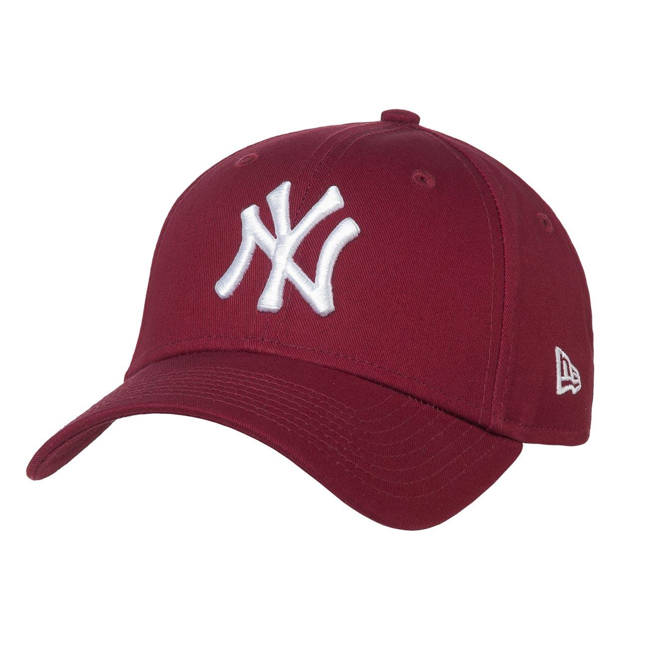 Kšiltovka New Era New York Yankees Essential cardinal/optic white