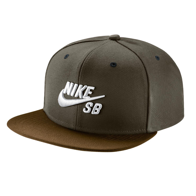 Kšiltovka Nike SB Icon Pro cargo khaki/ale brown/blk/wht
