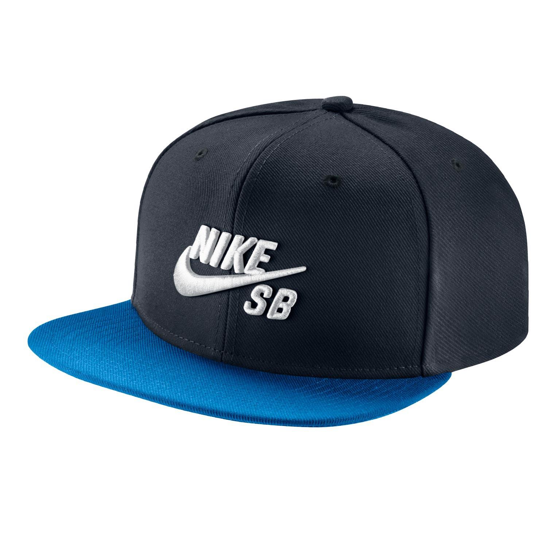 Kšiltovka Nike SB Icon Pro dark obsidian/photo blue/blk/wht
