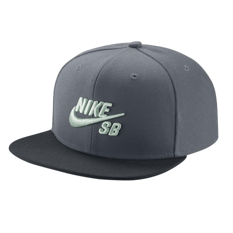 Kšiltovka Nike SB Pro cool grey/black/pine green