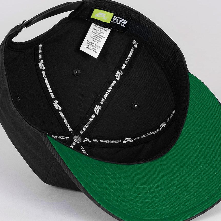 b974e468e50e2 Cap Nike SB Pro Vintage black pine green black black