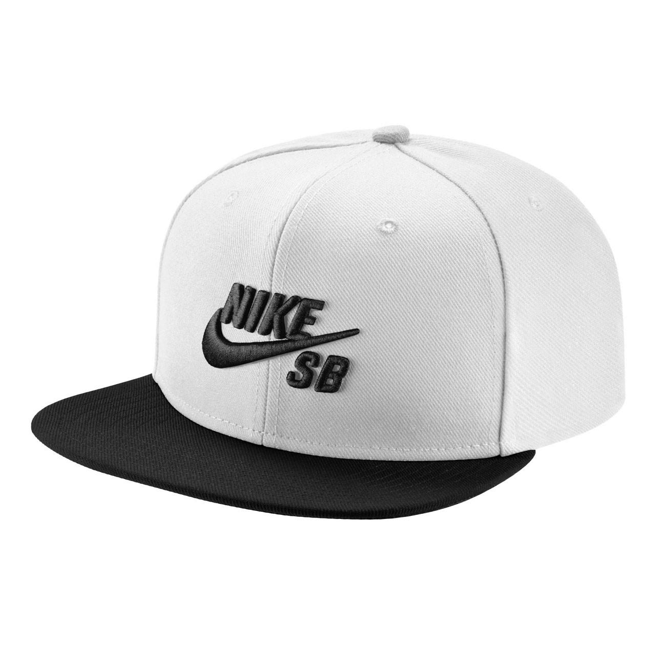 Kšiltovka Nike SB Pro white black black black  2999853aad