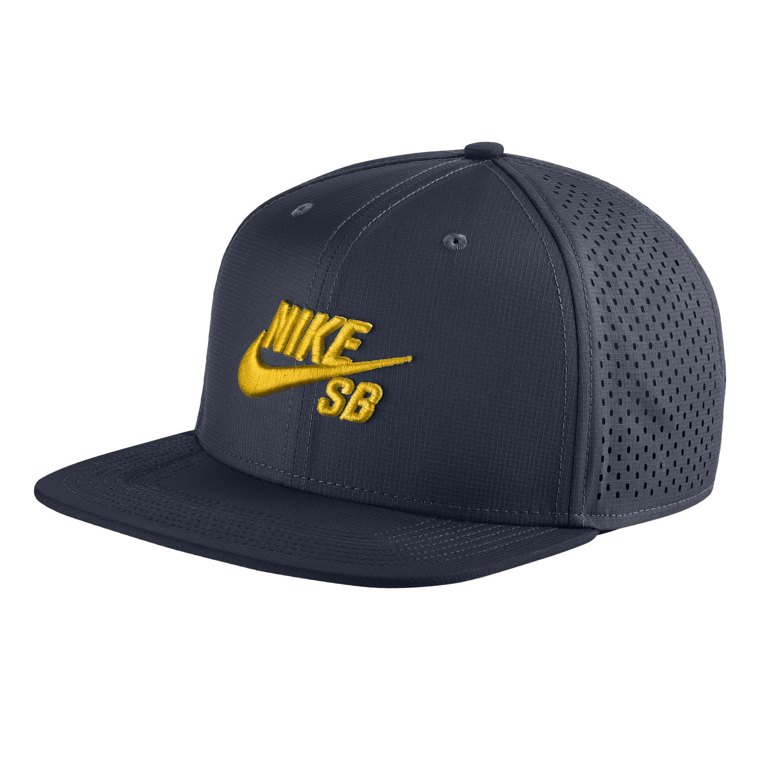 Kšiltovka Nike SB Trucker obsidian/black/tour yellow