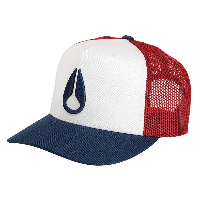 Nixon Deep Down Trucker Hat royal  4fc0f370818
