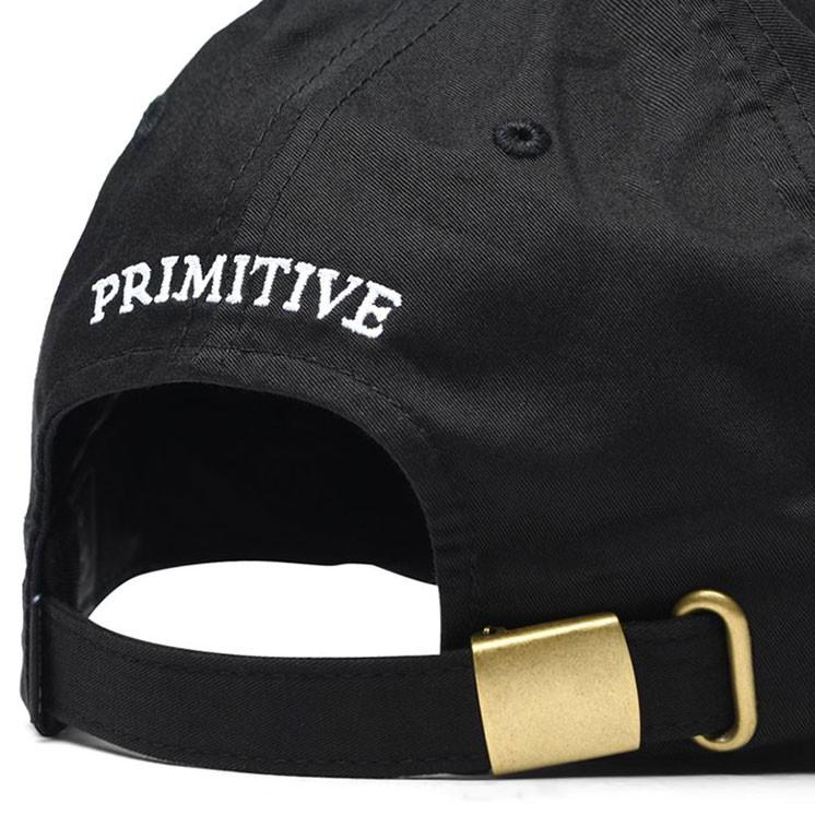 Cap Primitive Mini Classic P Dad Hat black  ba65f4e4659