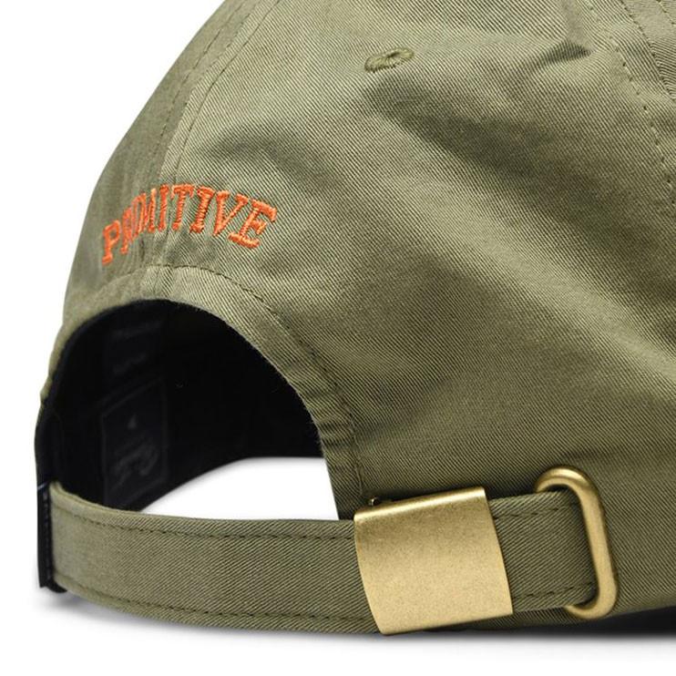 Cap Primitive Mini Classic P Dad Hat olive  cebcca471d7