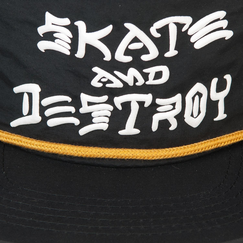 976f079482b Cap Thrasher Skate And Destroy Puff Ink black