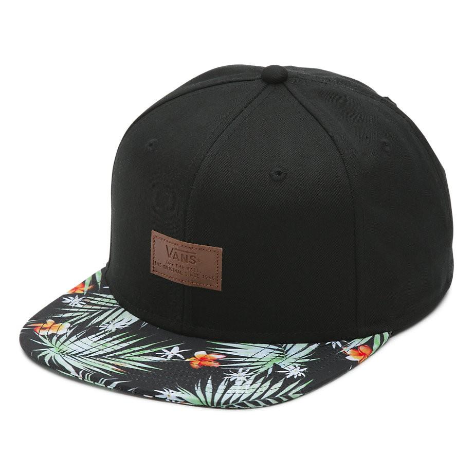 Kšiltovka Vans Allover It black decay palm