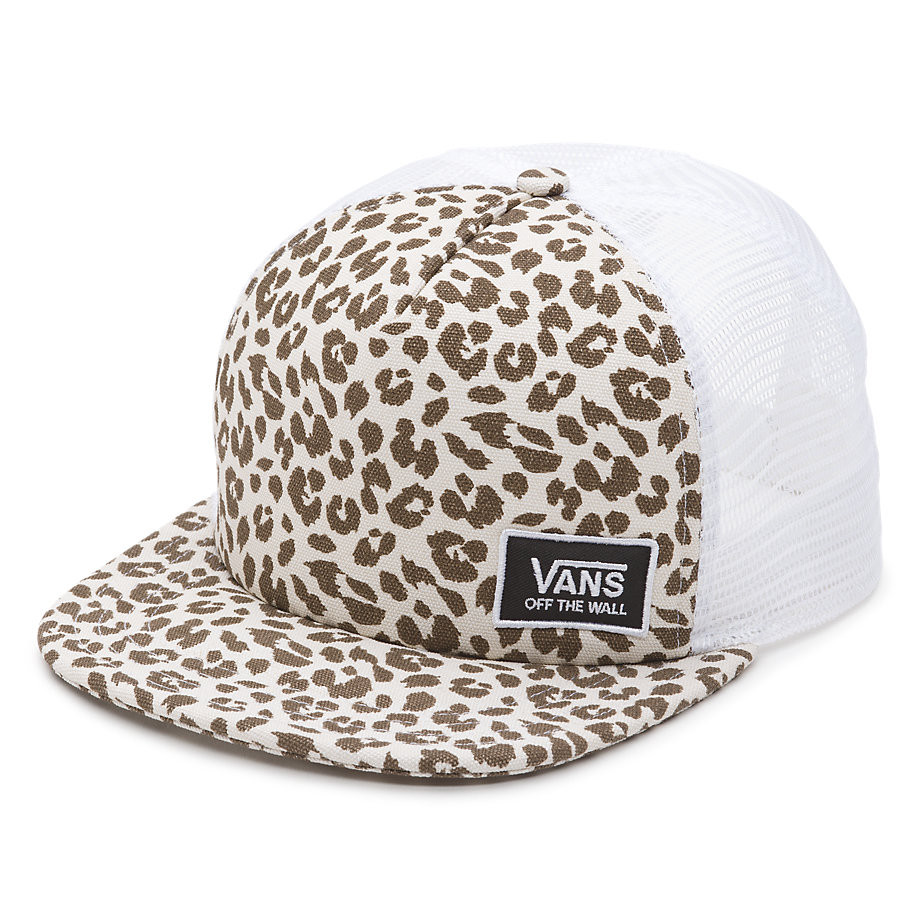 Kšiltovka Vans Beach Girl Trucker birch leopard
