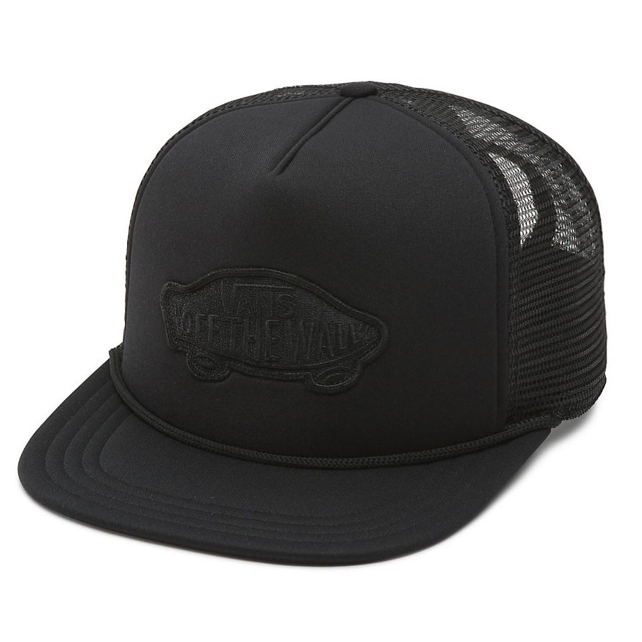 Kšiltovka Vans Classic Patch Trucker black