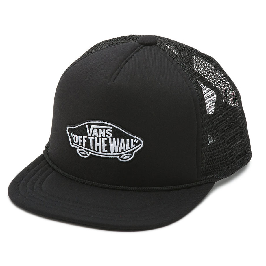 Kšiltovka Vans Classic Patch Trucker Boys black/black