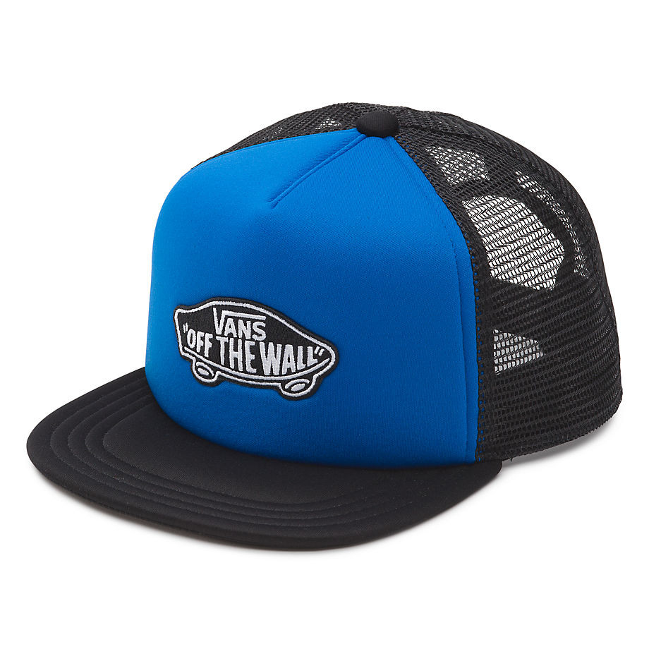 Kšiltovka Vans Classic Patch Trucker Boys royal blue