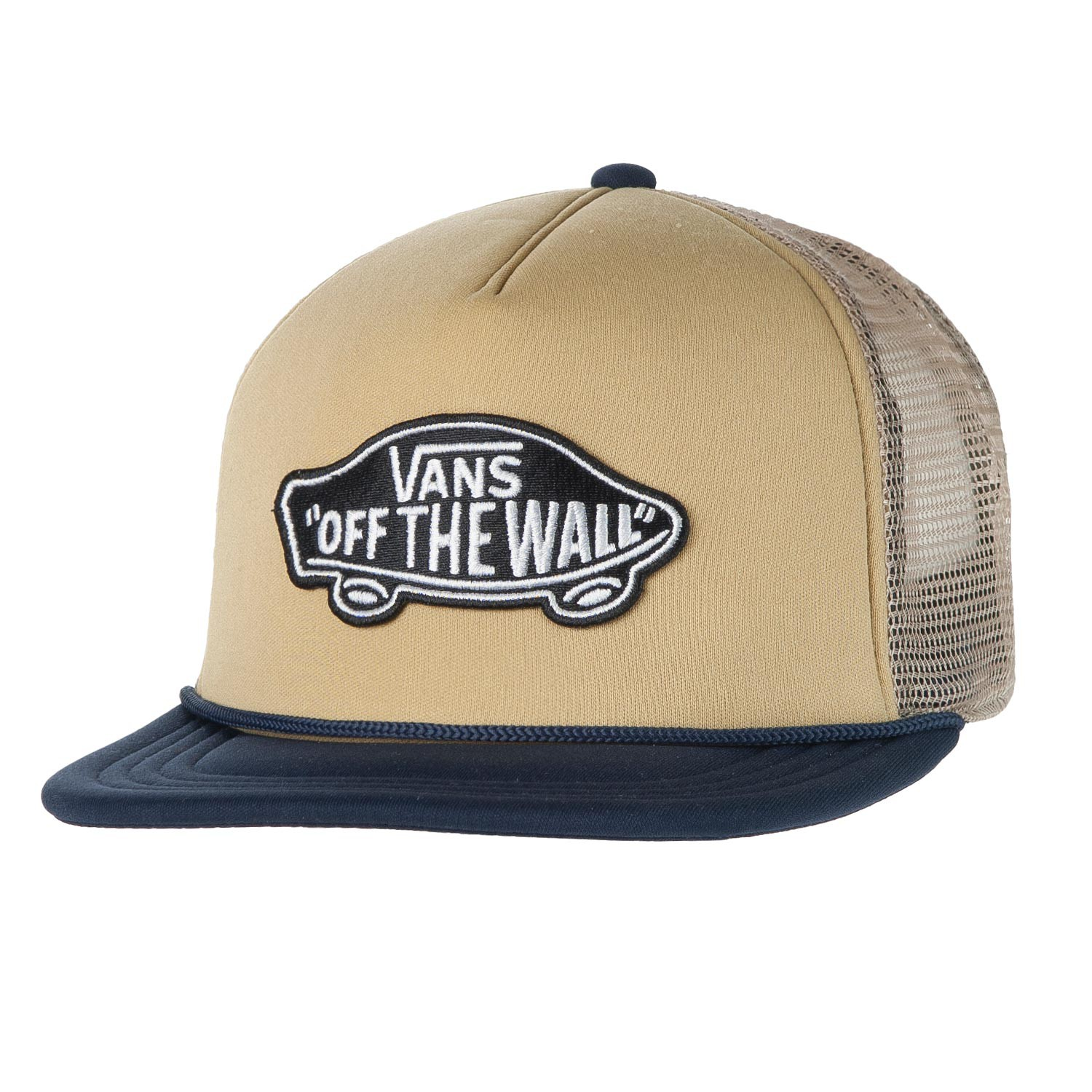Kšiltovka Vans Classic Patch Trucker khaki/dress blues