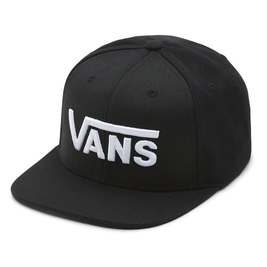 c617a7d6ed07 Cap Vans Drop V II Snapback black white