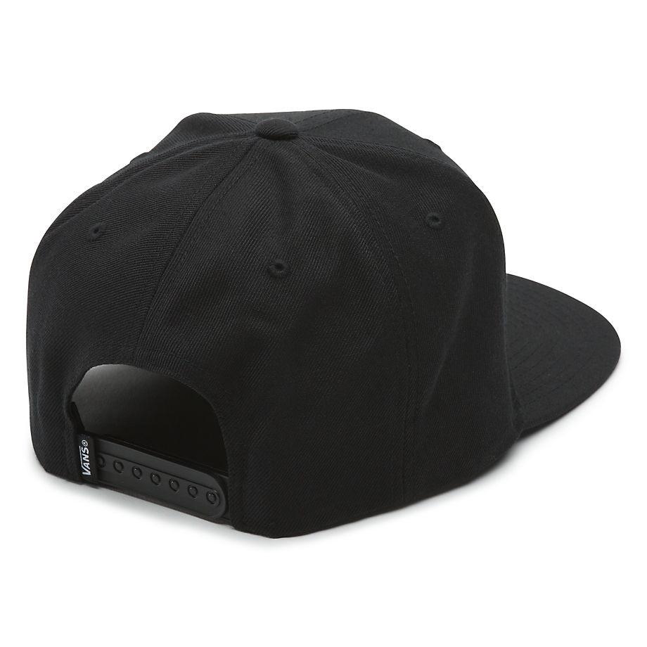 4b0aa86582f Cap Vans Drop V Ii Snapback Boys black white