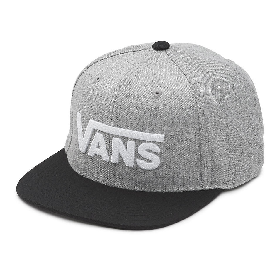 Kšiltovka Vans Drop V Ii Snapback heather grey/black
