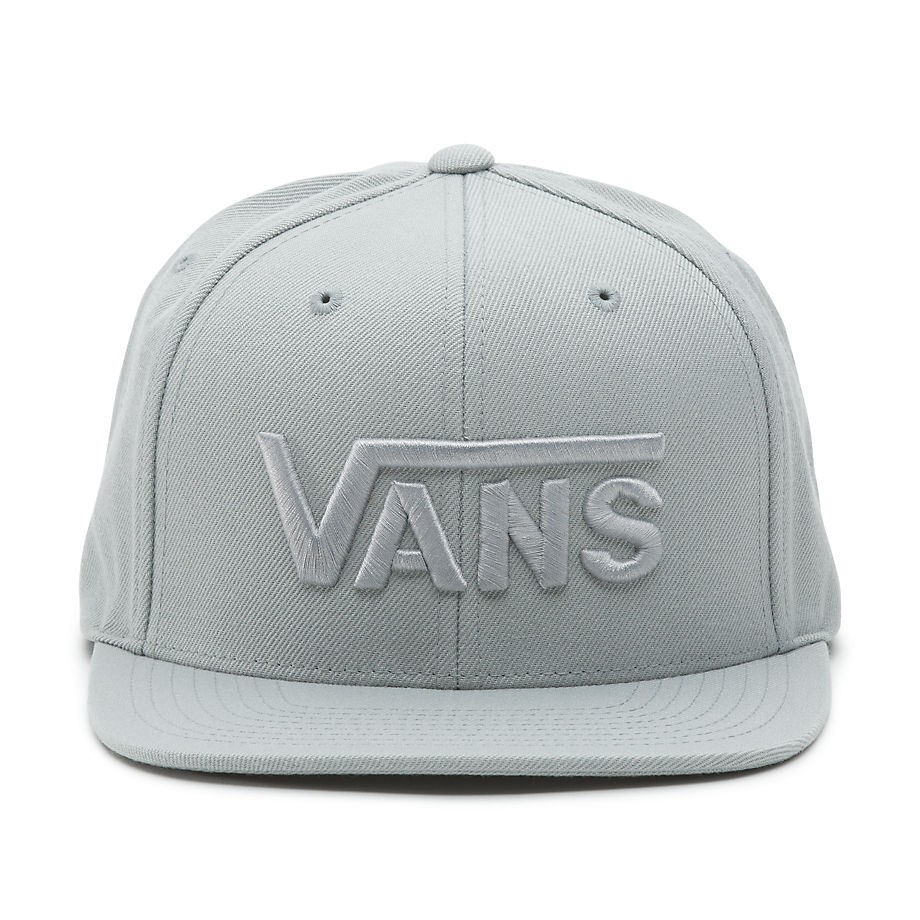 c9b2c94808e Cap Vans Drop V Snapback quarry