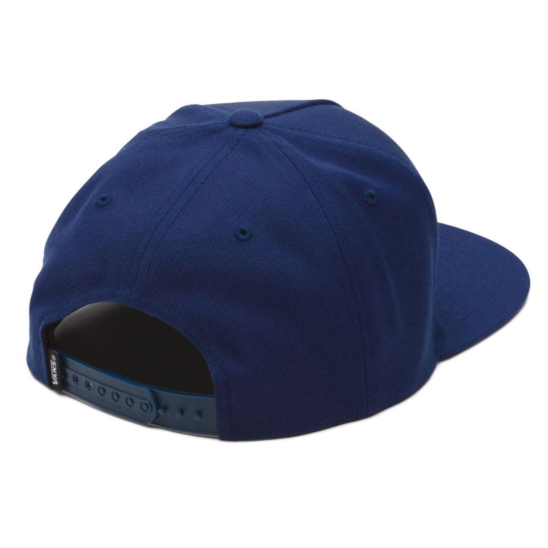 ab3ee2259f Cap Vans Full Patch Snapback dress blues