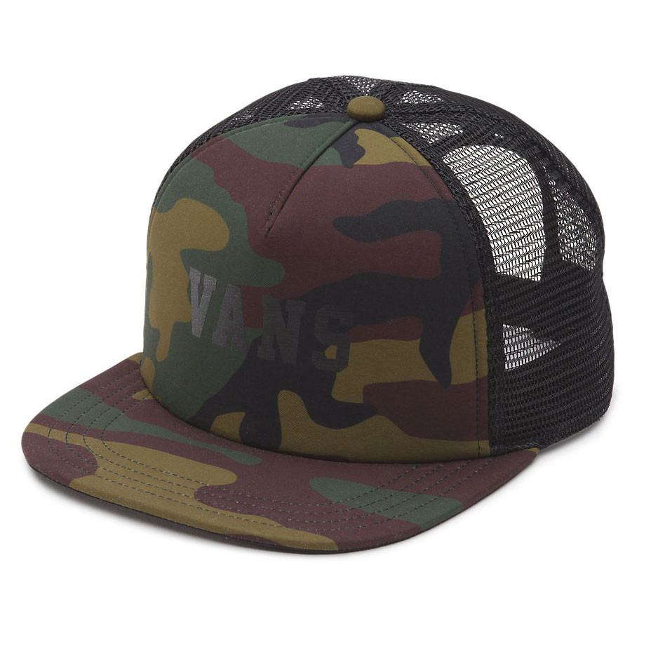 Kšiltovka Vans Lawn Party Trucker camo