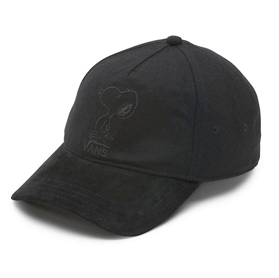 Kšiltovka Vans Peanuts Tonal Embroidery Dugout black