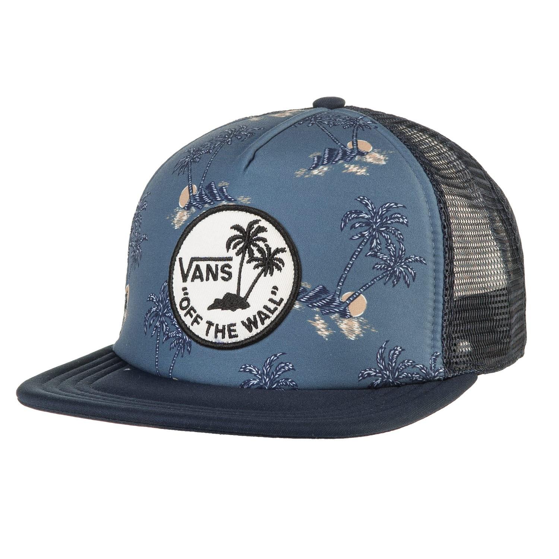 Kšiltovka Vans Surf Patch Trucker blue mirage havana