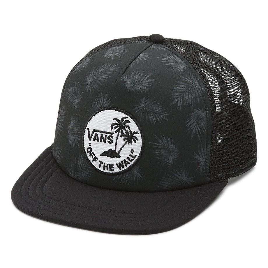 Kšiltovka Vans Surf Patch Trucker tonal palm/black