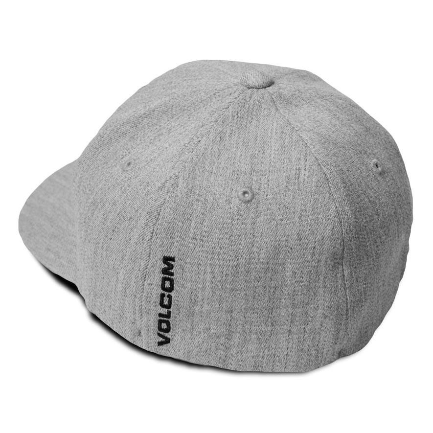 best service 41289 4d9b3 cheap volcom full stone heather cap in grey vintage 6f84c e466e  discount cap  volcom full stone heather xfit cb269 5755a