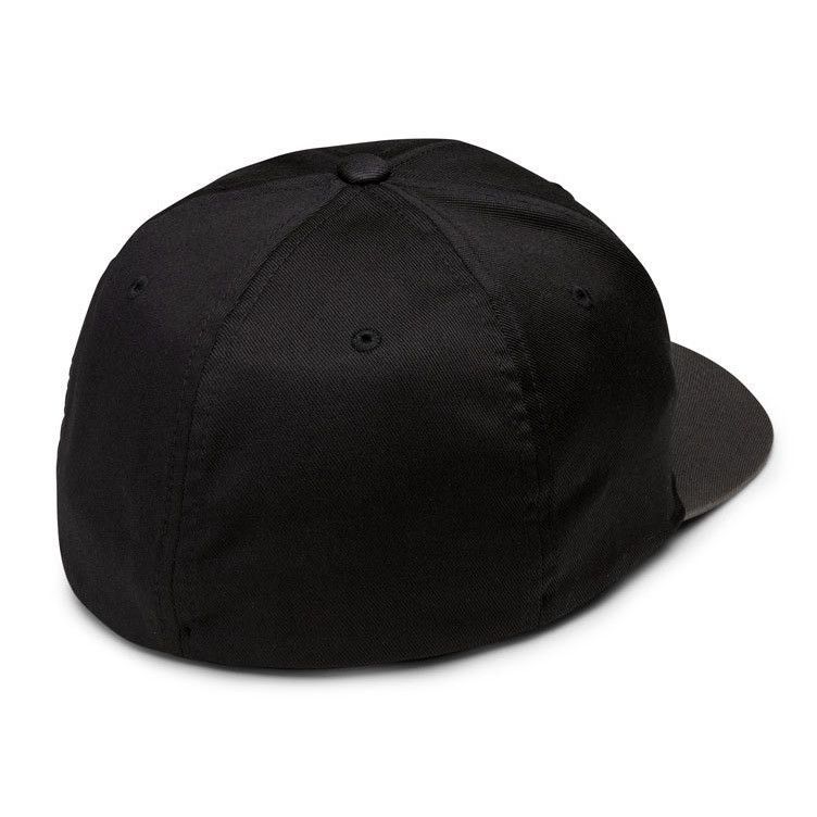 Kšiltovka Volcom Full Stone Xfit black grey  4b59ecc3c7