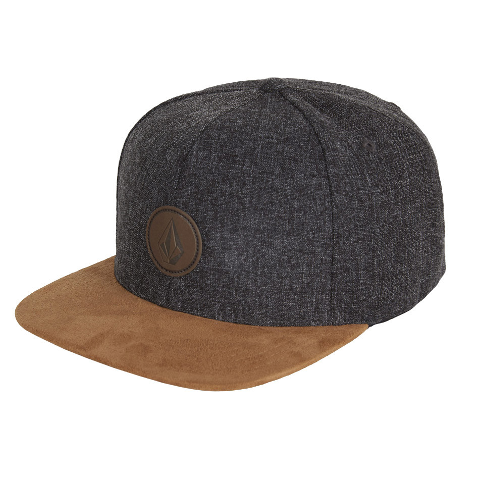 Kšiltovka Volcom Quarter Fabric brown combo