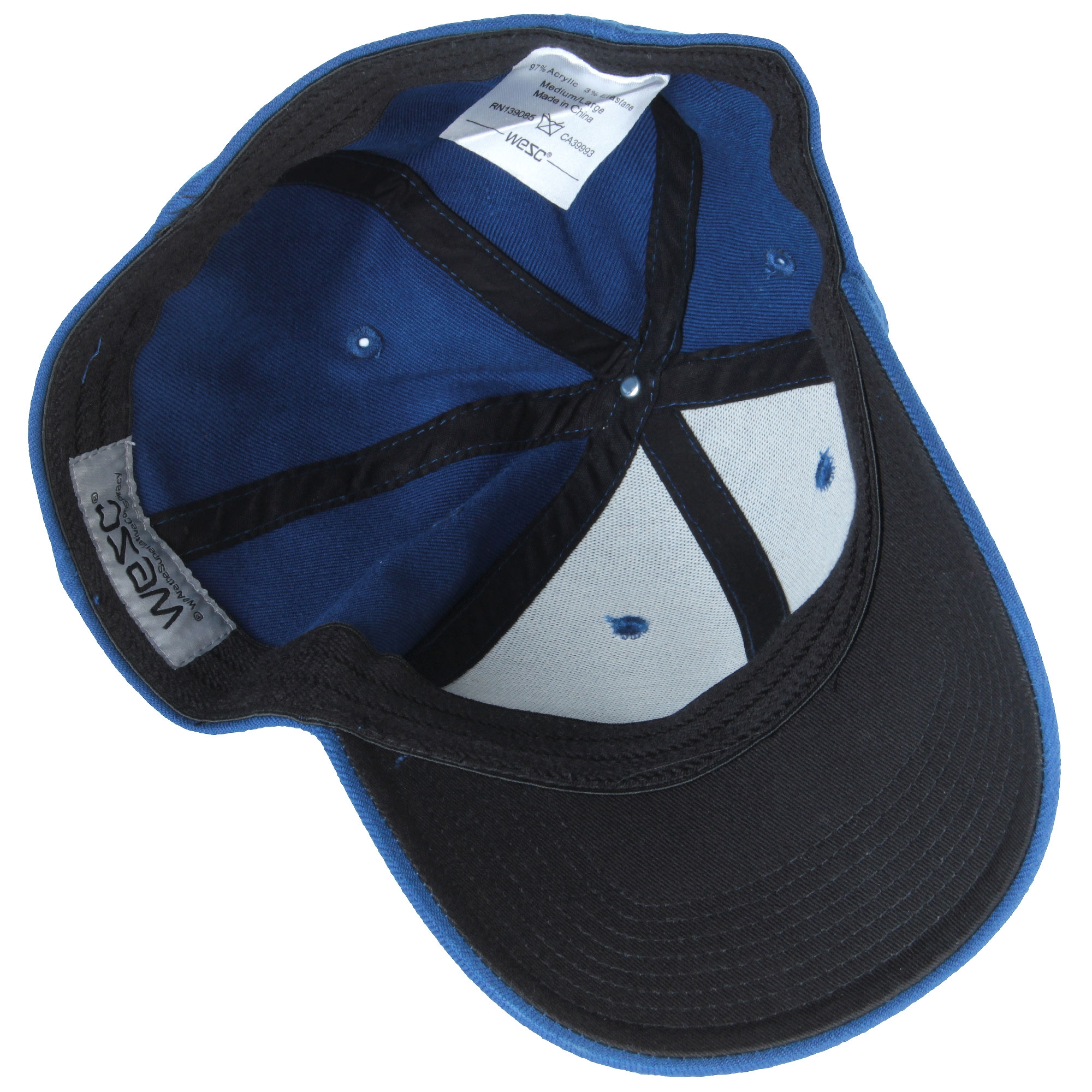 ea474a25a84 WeSC Icon Flexfit true blue