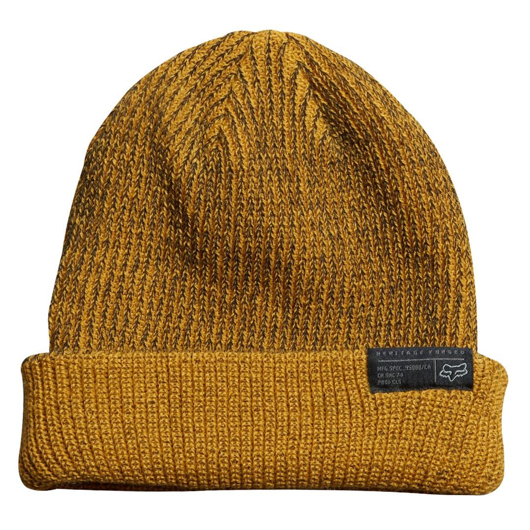 Zimní čepice Fox Extrude mustard