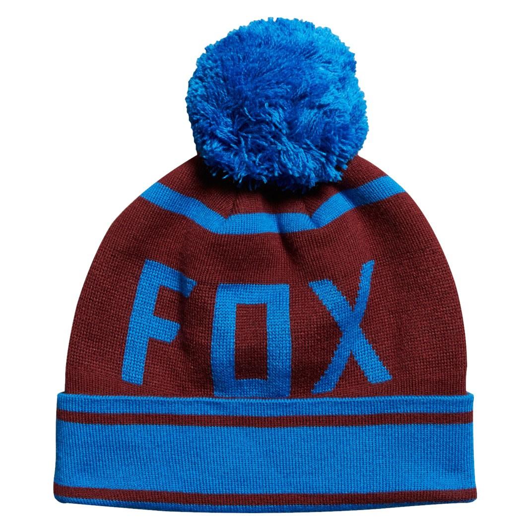 Zimní čepice Fox Formality burgundy