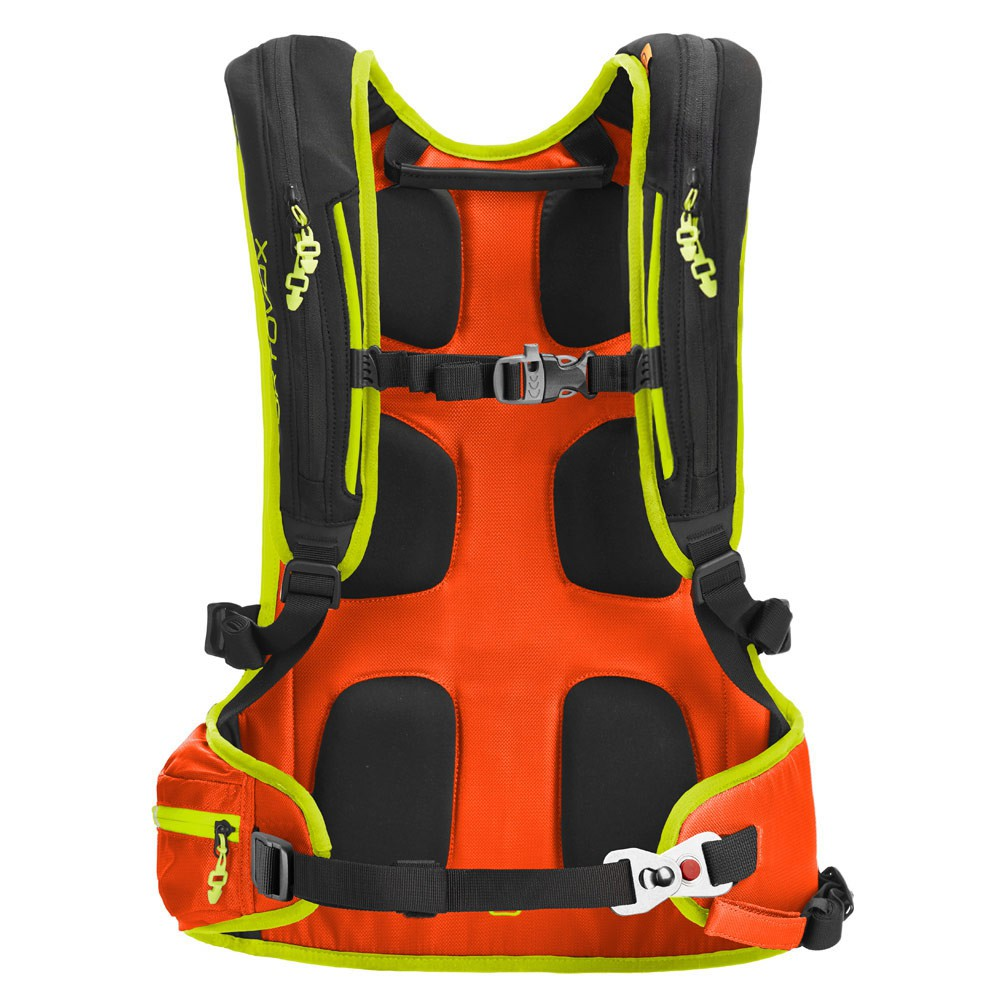387ef71632 Batoh na snowboard Ortovox Base 20 Abs crazy orange