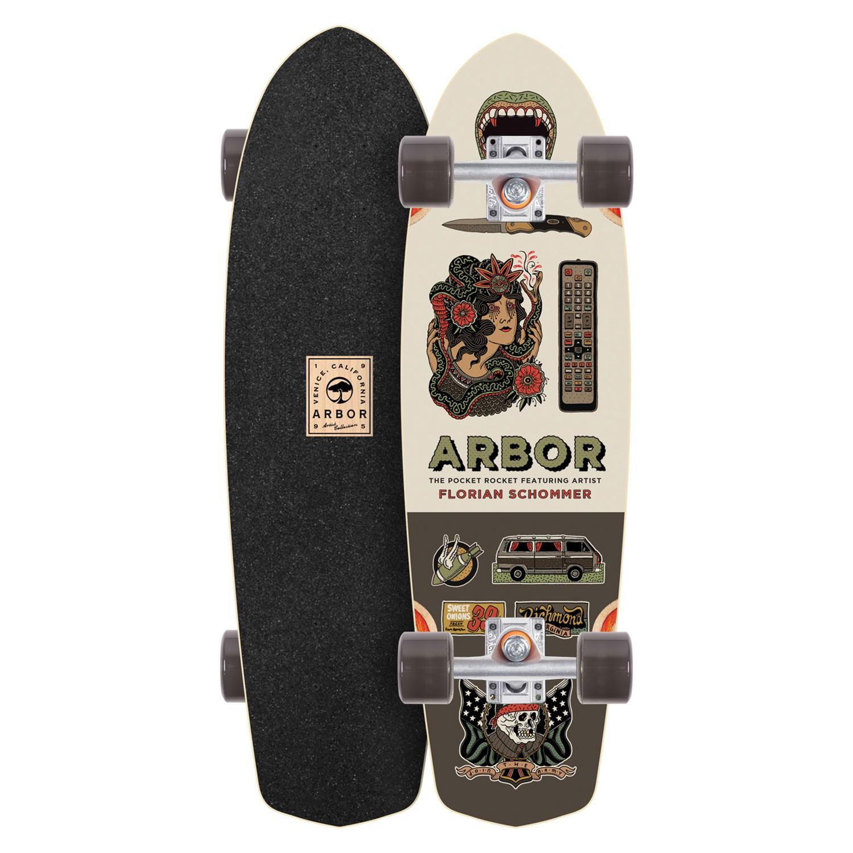 Longboard Arbor Pocket Rocket AC