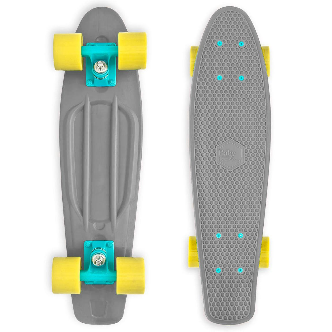 Longboard Baby Miller Old Is Cool stone grey