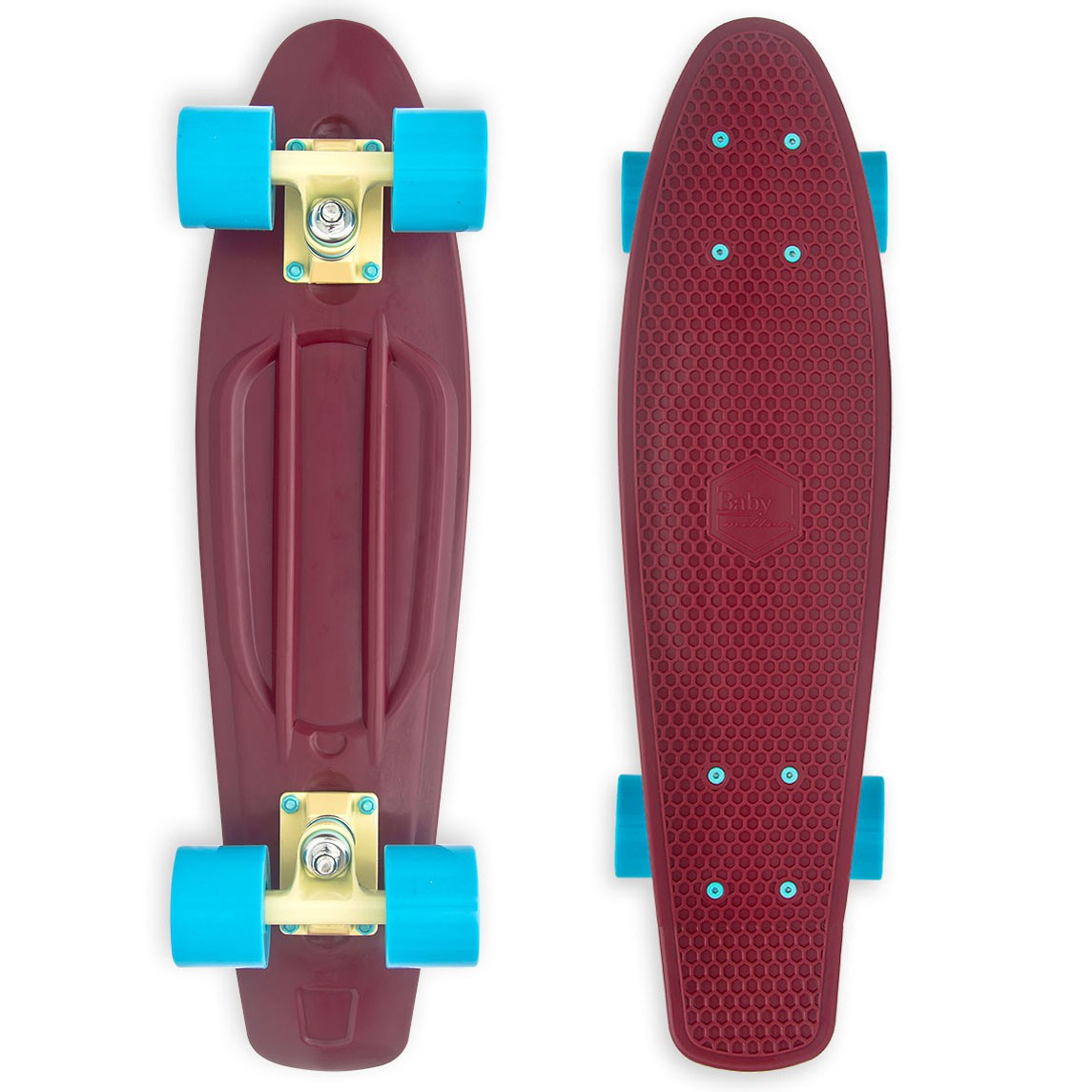 Longboard Baby Miller Old Is Cool wine red