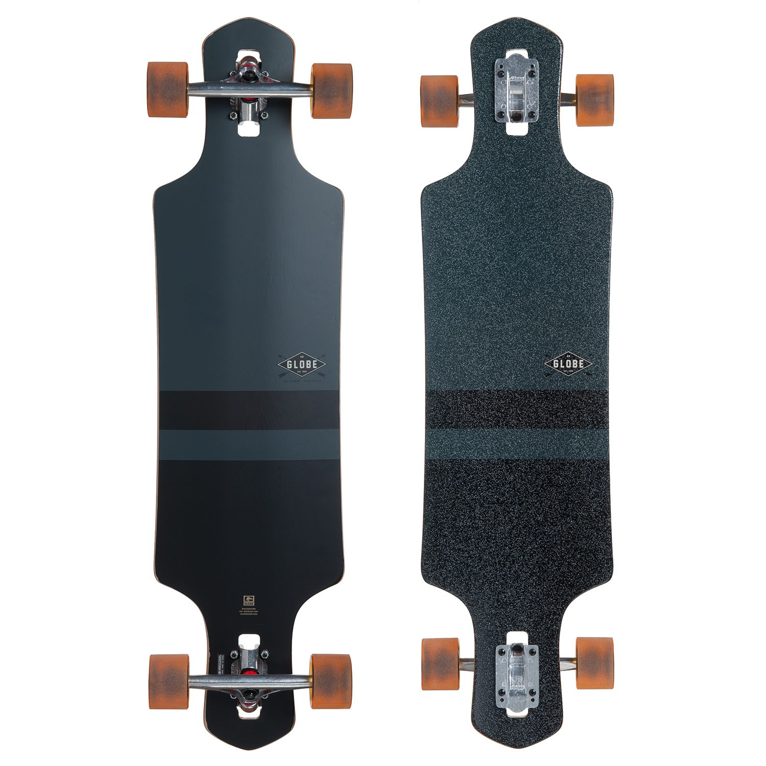Longboard Globe Geminon charcoal/black