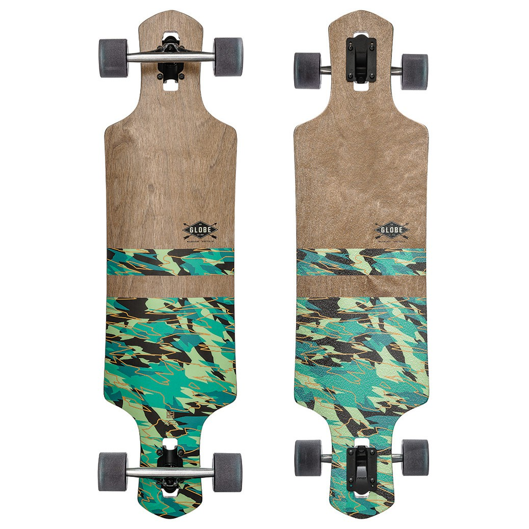 Longboard Globe Geminon dark maple/watershed