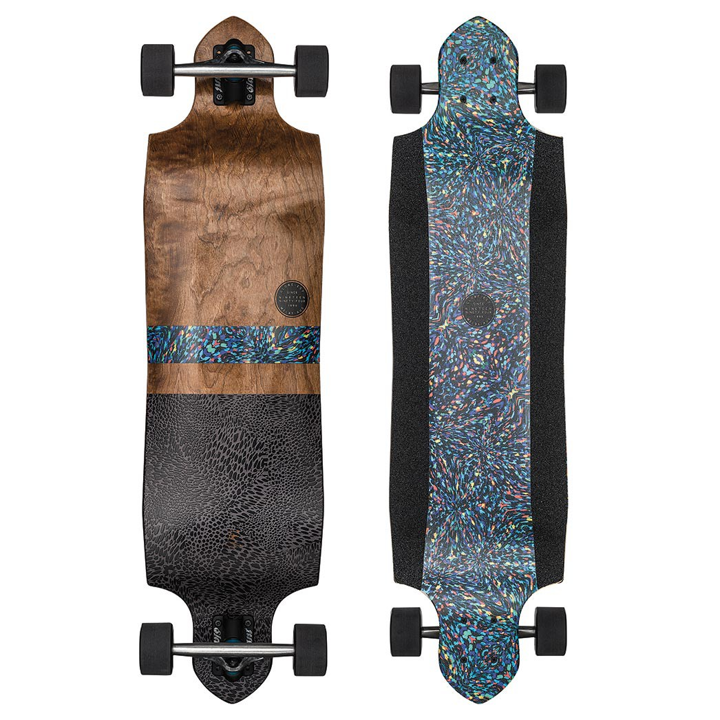 Longboard Globe Geminon Micro-Drop rainbow serpent