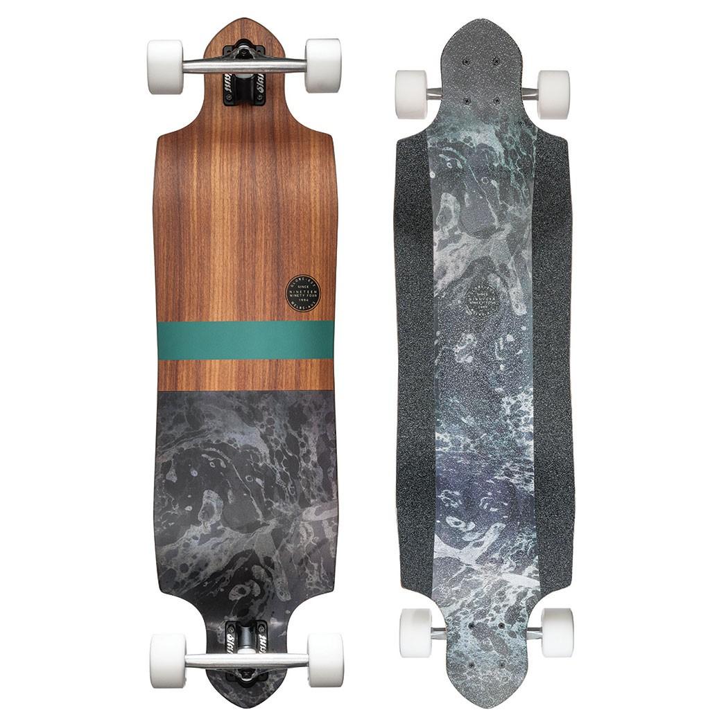 Longboard Globe Geminon Micro-Drop rosewood/black