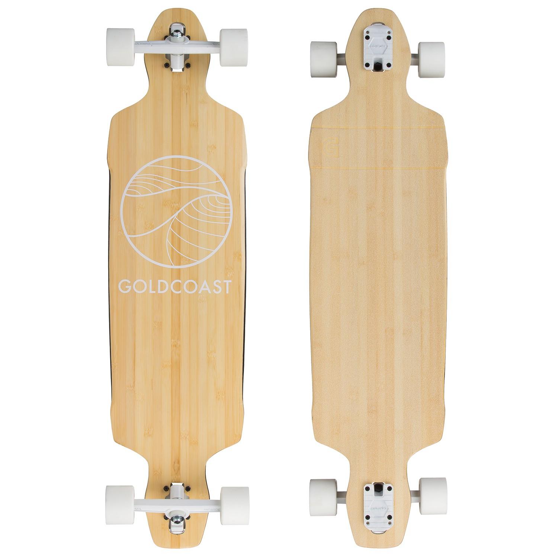 Longboard Goldcoast Classic Drop Through bamboo