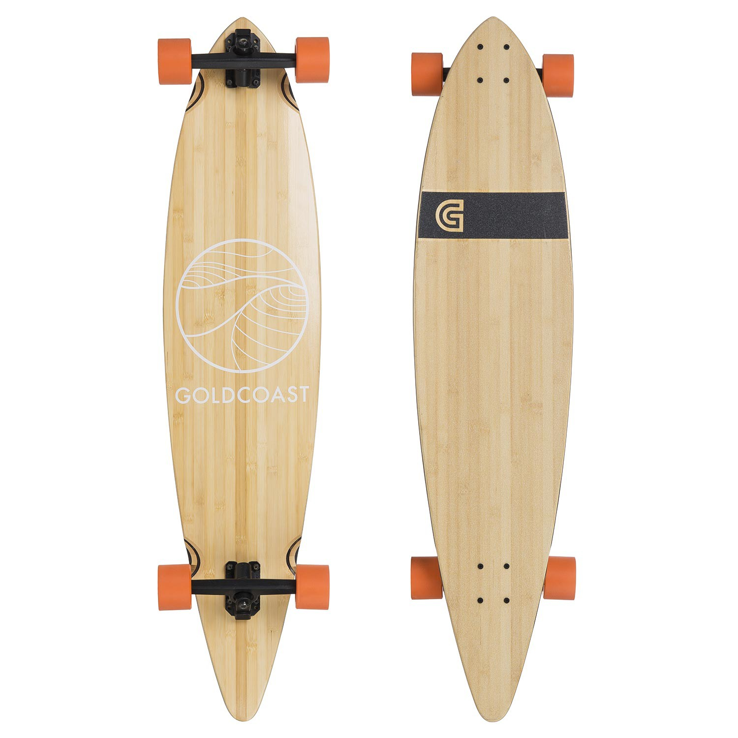 Longboard Goldcoast Classic Pintail bamboo