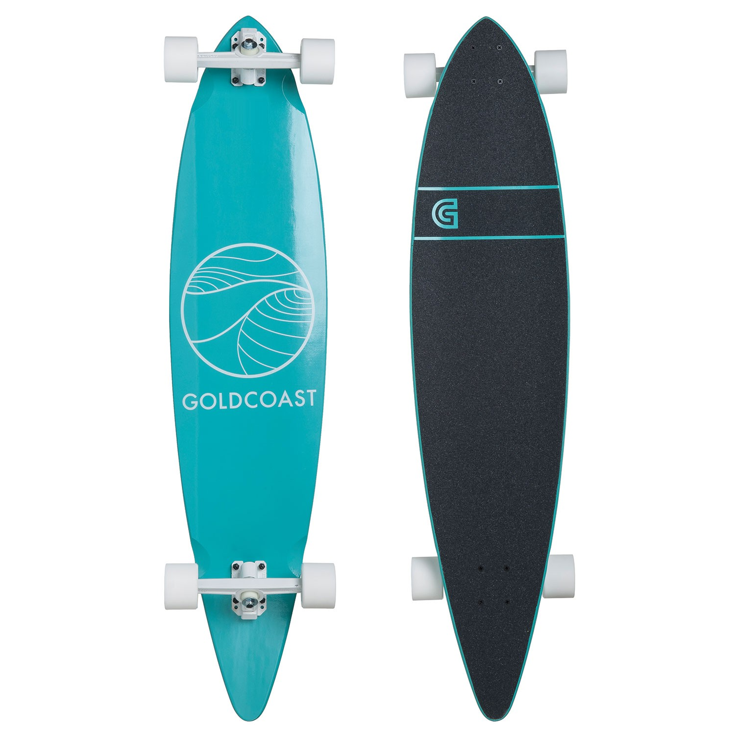 Longboard Goldcoast Classic Pintail turquoise