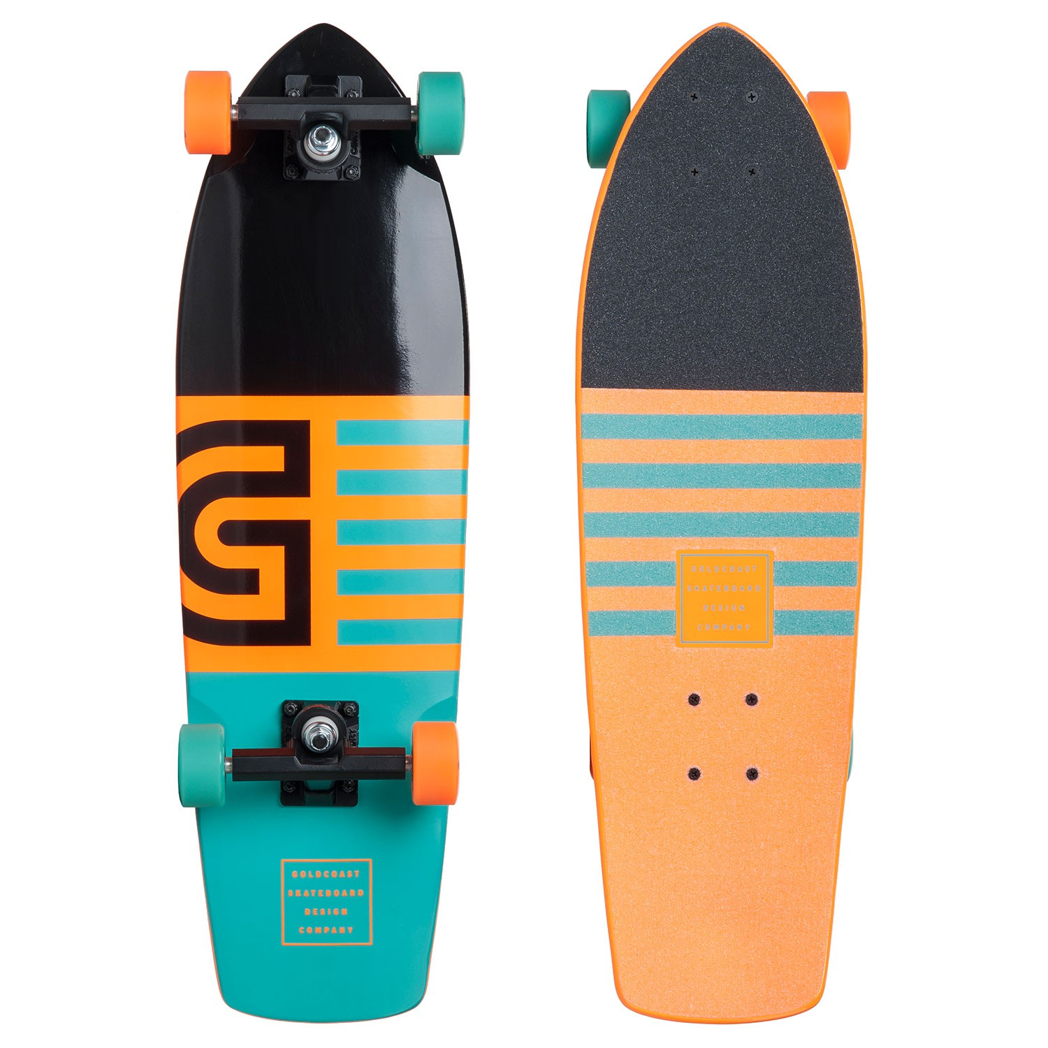 Longboard Goldcoast Jetty Cruiser orange