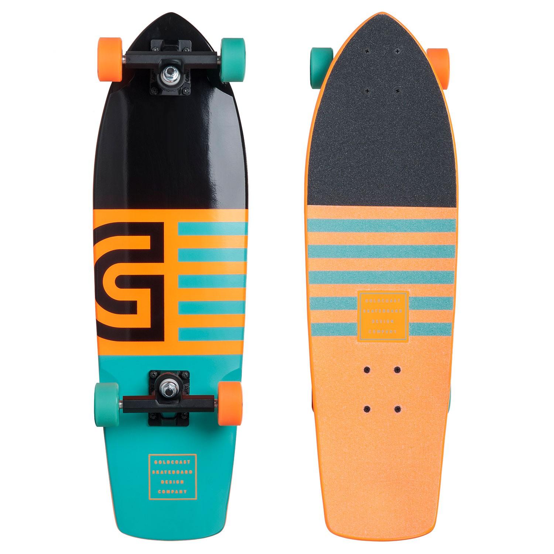 Longboard Goldcoast Jetty Cruiser orange