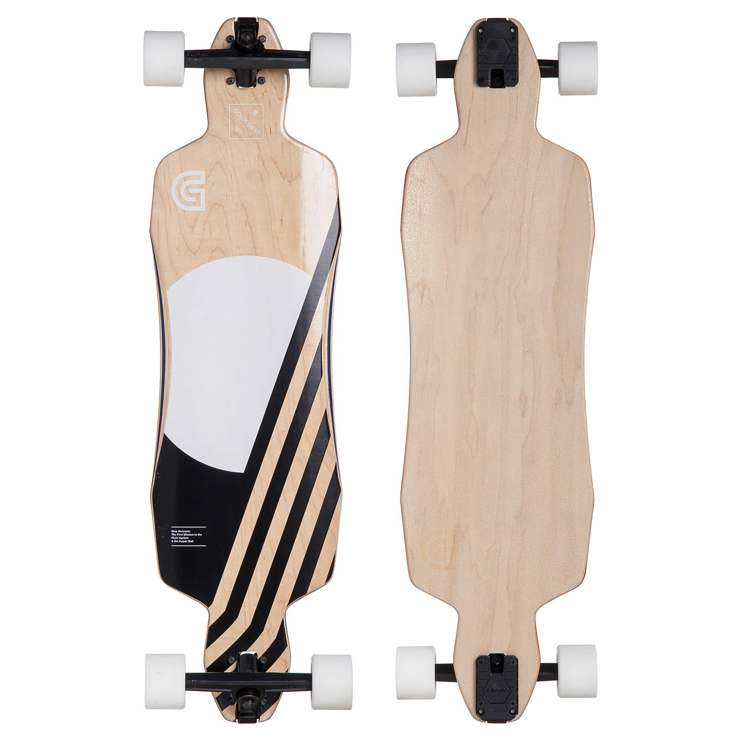 "Longboard Goldcoast Pluton Drop Through vel.36"" / 91 cm 16 + Kšiltovka Goldcoast ZDARMA"